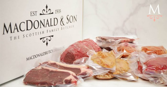Scottish online butcher meat pack from MacDonald & Son Butcher Dundee