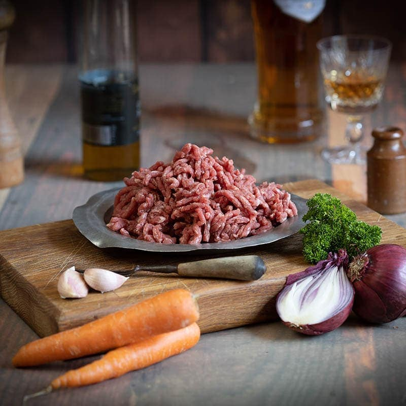 Scottish Steak Mince available to buy at Macdonald & Sons Butchers in Dundee, Scotland