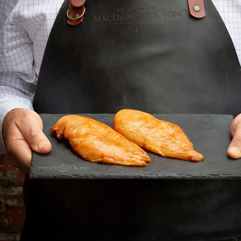 BBQ Chicken Breasts (Pack of 2) available to buy at Macdonald & Sons Butchers in Dundee, Scotland