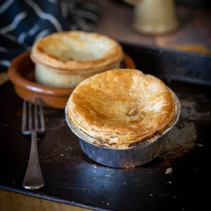 Steak Pie with Caramelised Onion
