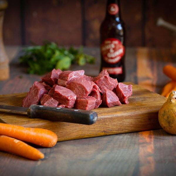 Scottish Stewing Steak available to buy at Macdonald & Sons Butchers in Dundee