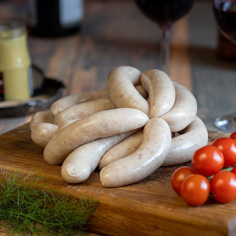 Chicken Link Sausage available to buy at Macdonald & Sons Butchers in Dundee, Scotland