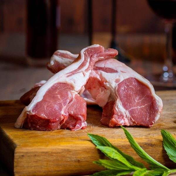 Double Loin Lamb Chop available to buy at Macdonald & Sons Butchers in Dundee, Scotland