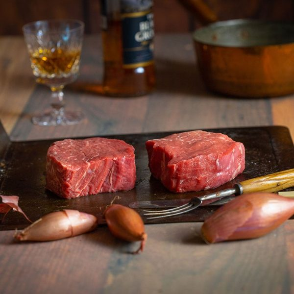 Scottish fillet steak available to buy at Macdonald & Sons Butchers in Dundee