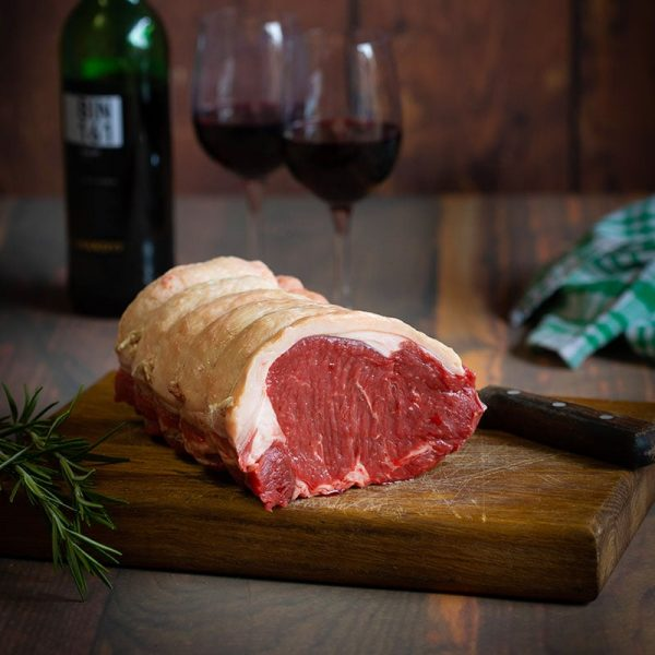 Scottish Sirloin roasting joint available to buy at Macdonald & Son Butchers in Dundee