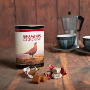 250g Famous Grouse Whisky Fudge Tin
