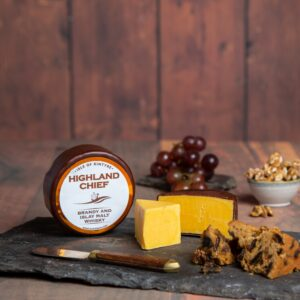 Highland Chief Whisky Cheese