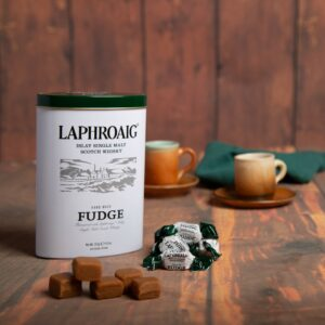 250g Laphroaig Whisky Fudge Tin