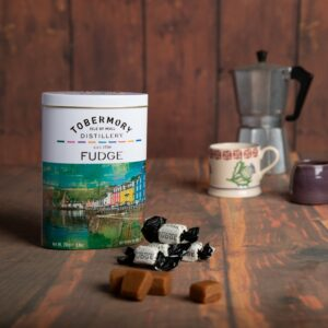 250g Tobermory Fudge Tin