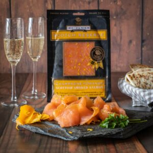 Champagne & Orange Smoked Salmon