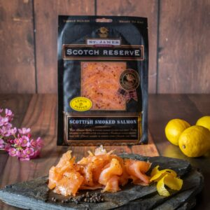 Lemon & Pepper Smoked Salmon