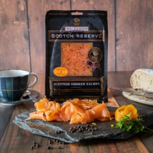 Orange & Pepper Smoked Salmon