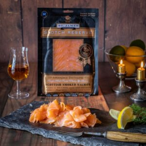 Whisky & Honey Smoked Salmon